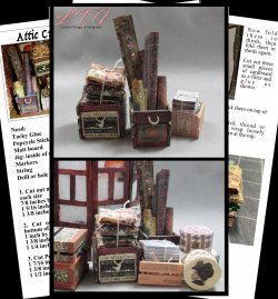 OLD CRATES FROM GRANDMA'S ATTIC Download Miniature One Inch Scale Tutorial PDF